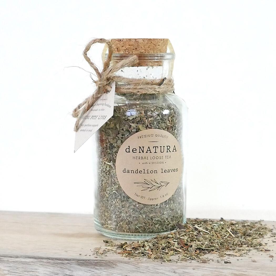 Dandelion - Herbal Tisane - Glass Jar