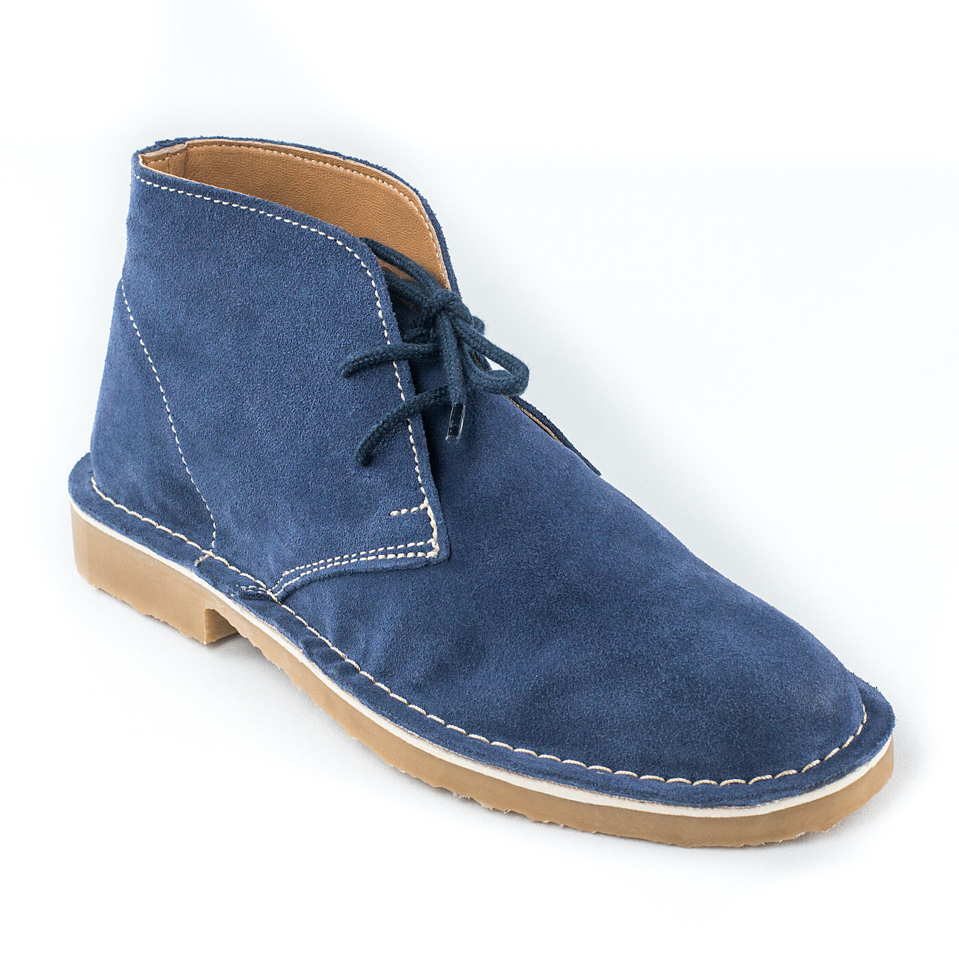 The Presley Blue Suede Vellie