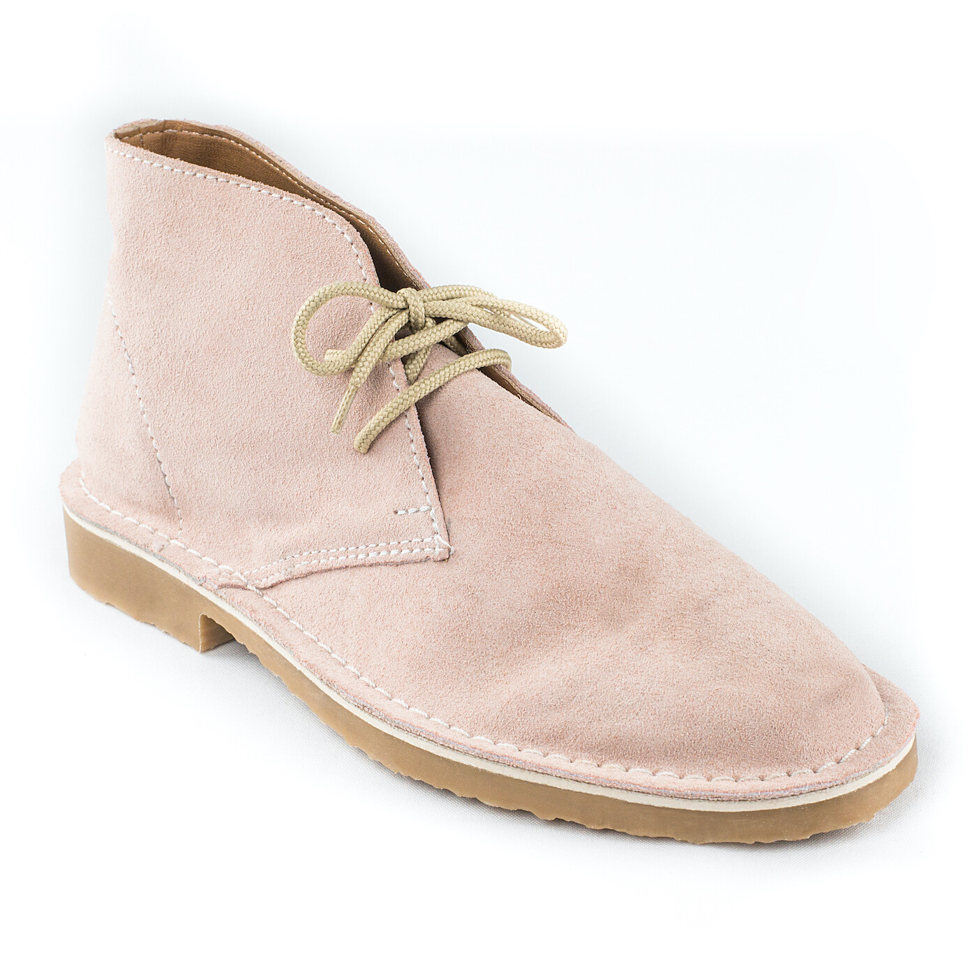 The Shiva Light Pink Suede Vellie