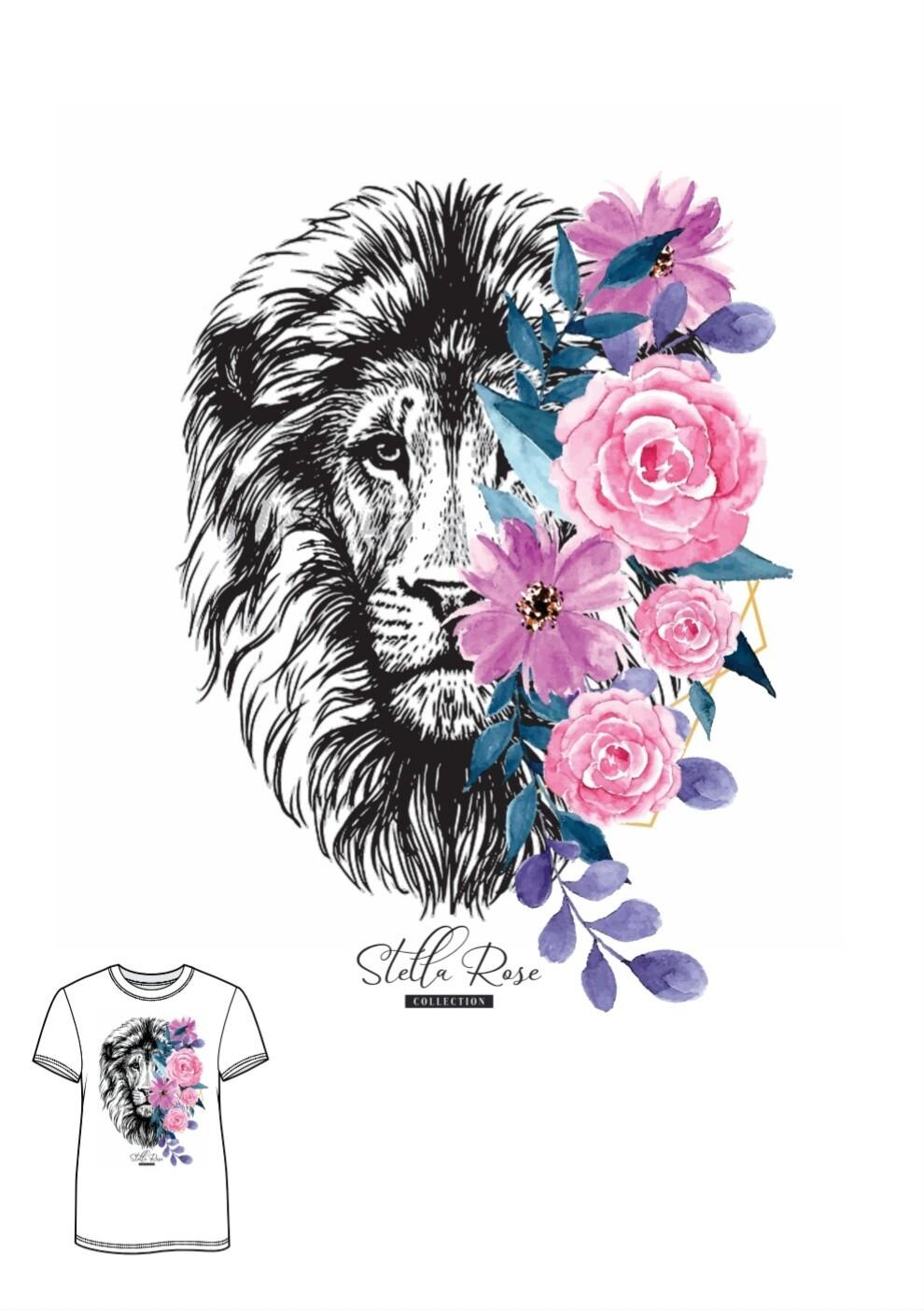 Rose Lion T-shirt