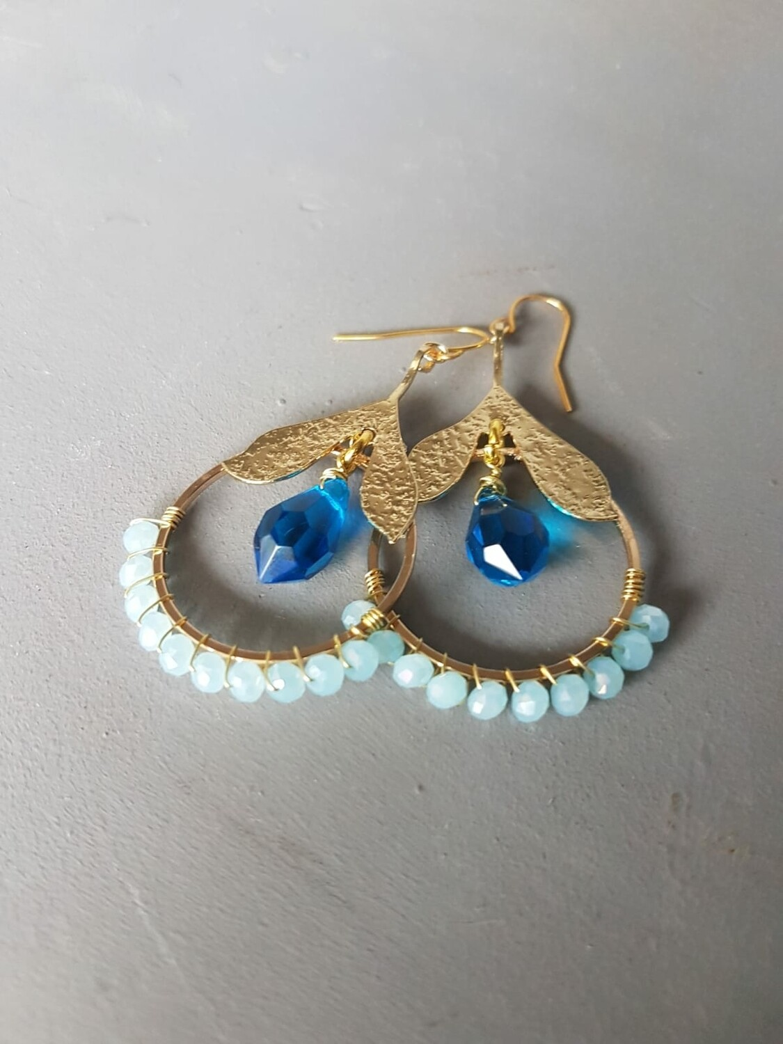 Cazz Creations Turquoise Drop Earrings
