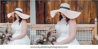 Summer plastic straw hat