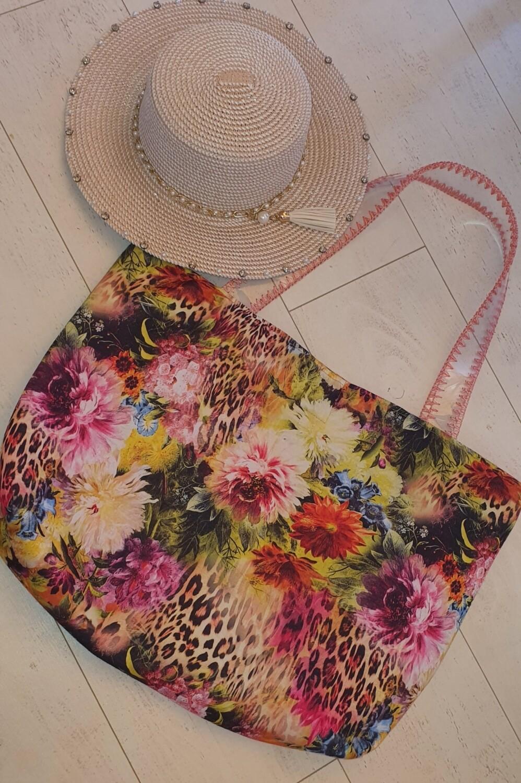 Wild Rose Beach bag