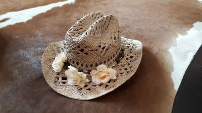Rattan Cowgirl Hat