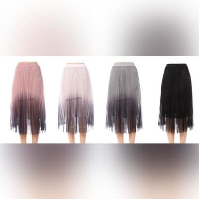 Glitzy Mesh skirt