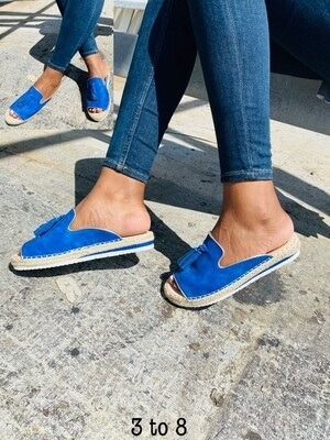 Espadrilles Slip on with tassels