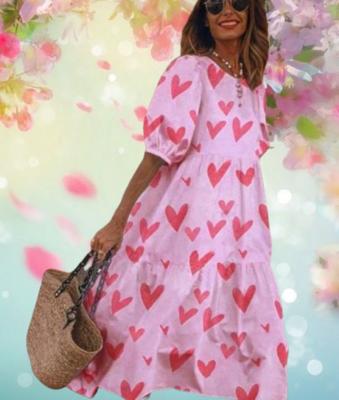 Heart Boho Tiered Dresses