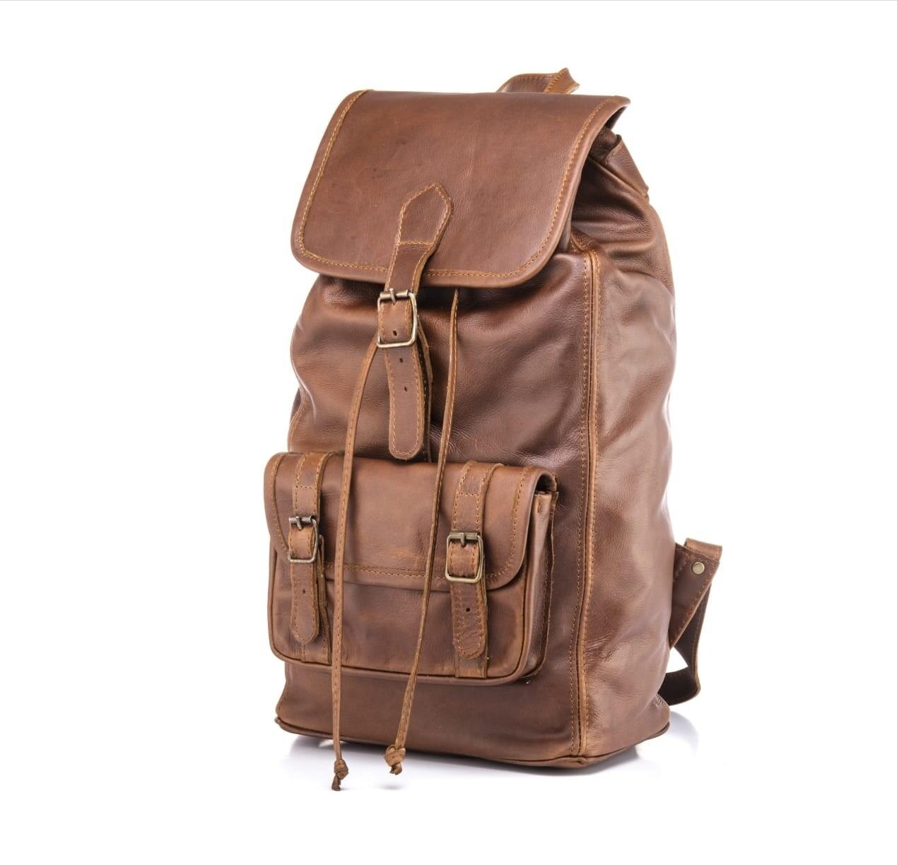 Back Pack leather bag