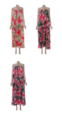 Hawaiian Boobtube Dress