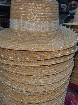 Summer straw basher/hat's