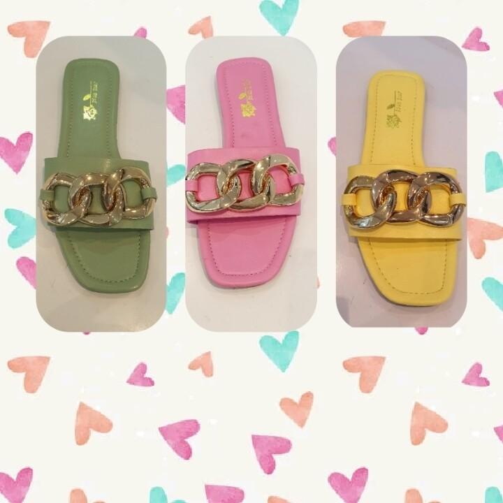 Ice cream 🍦 colored sandals