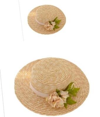 Summer straw hats.