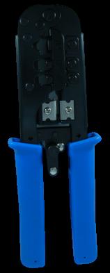 לוחץ משולב RJ-11/RJ-45  מסיבי