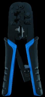 לוחץ RJ-45/RJ-11 עם רצ