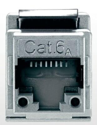 שקע דו צדדי CAT6A Telegärtner