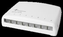 קופסא מעוצבת ל-8 שקעים CAT6A Telegärtner