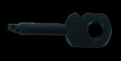 מפתח  למנעול שקע קיסטון