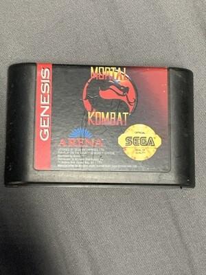 Sega Genesis Mortal Kombat