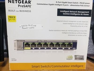 Netgear prosafe smart switch