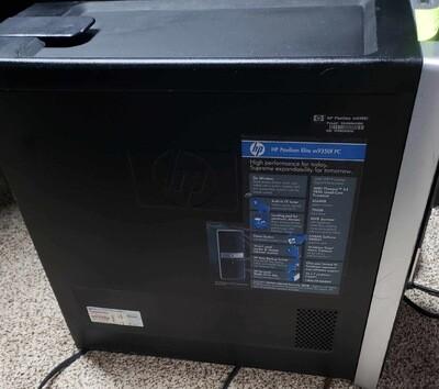 HP PAVILION ELITE M9350F DESKTOP PC