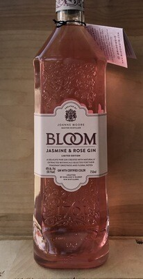 Bloom Gin Jasmine and Rose Limited Edition New Western Gin