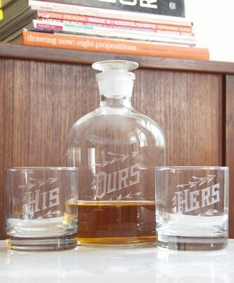 Decanter Set -