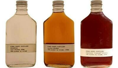 Kings County Gift 3 Pack (Bourbon, Moonshine, Chocolate)