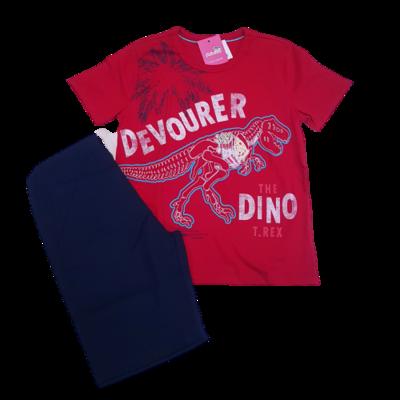 Conjunto Camiseta com bermuda