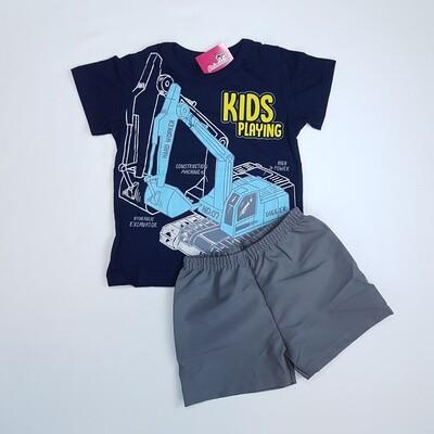 Conjunto Camiseta e bermuda masculino