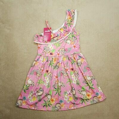 Vestido Infantil Cor Bergonia