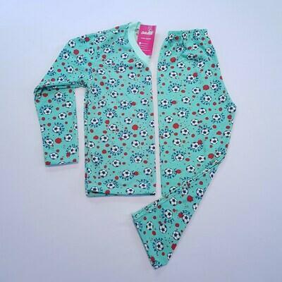 Pijama Infantil Masculino Manga Longa e Calça