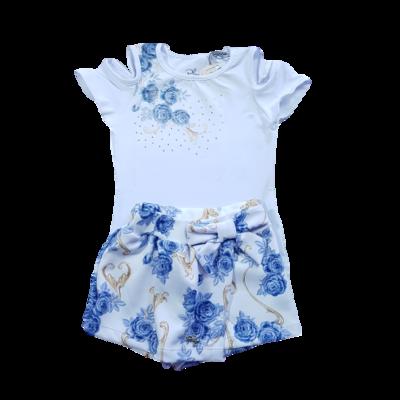 Conjunto Blusa e Short saia sportswear