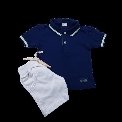 Conjunto Camisa polo e bermuda