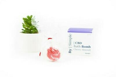 By Simple 100MG CBD Bath Bomb