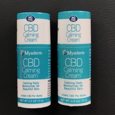Myaderm 100mg CBD Calming Face Cream 0.5 oz