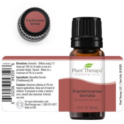 Plant Therapy® Frankincense Serrata Essential Oil, 1/3 fl oz (10mL)