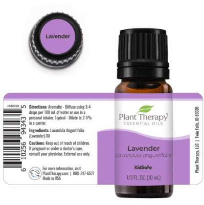 Plant Therapy® Lavender Essential Oil, 1/3 fl oz (10mL)