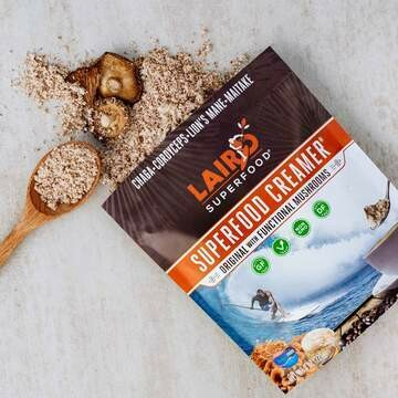 Laird SuperFood® Super food Creamer, with Functional Mushrooms 8oz