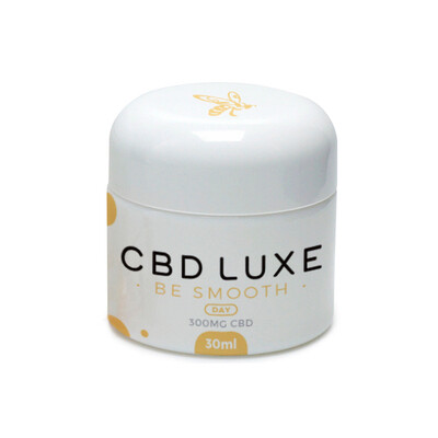 CBD Luxe Be Smooth 300mg Day Face Cream 30mL