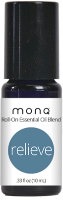 Monq® Roll on Essential Oil blend (10mL)- Relieve