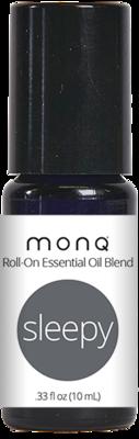 Monq® Roll on Essential Oil blend (10mL)- Sleepy