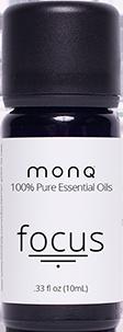 Monq® 100% Pure Essential Oils (10 mL) - Focus