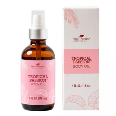 Plant Therapy ® Tropical Passion Body Oil -  4 fl oz