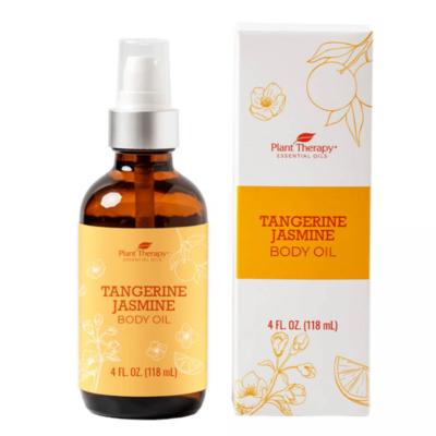 Plant Therapy ® Tangerine Jasmine Body Oil -  4 fl oz
