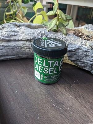 Hemp Direct Delta 8 Infused Flower - Diesel, 10g Jar