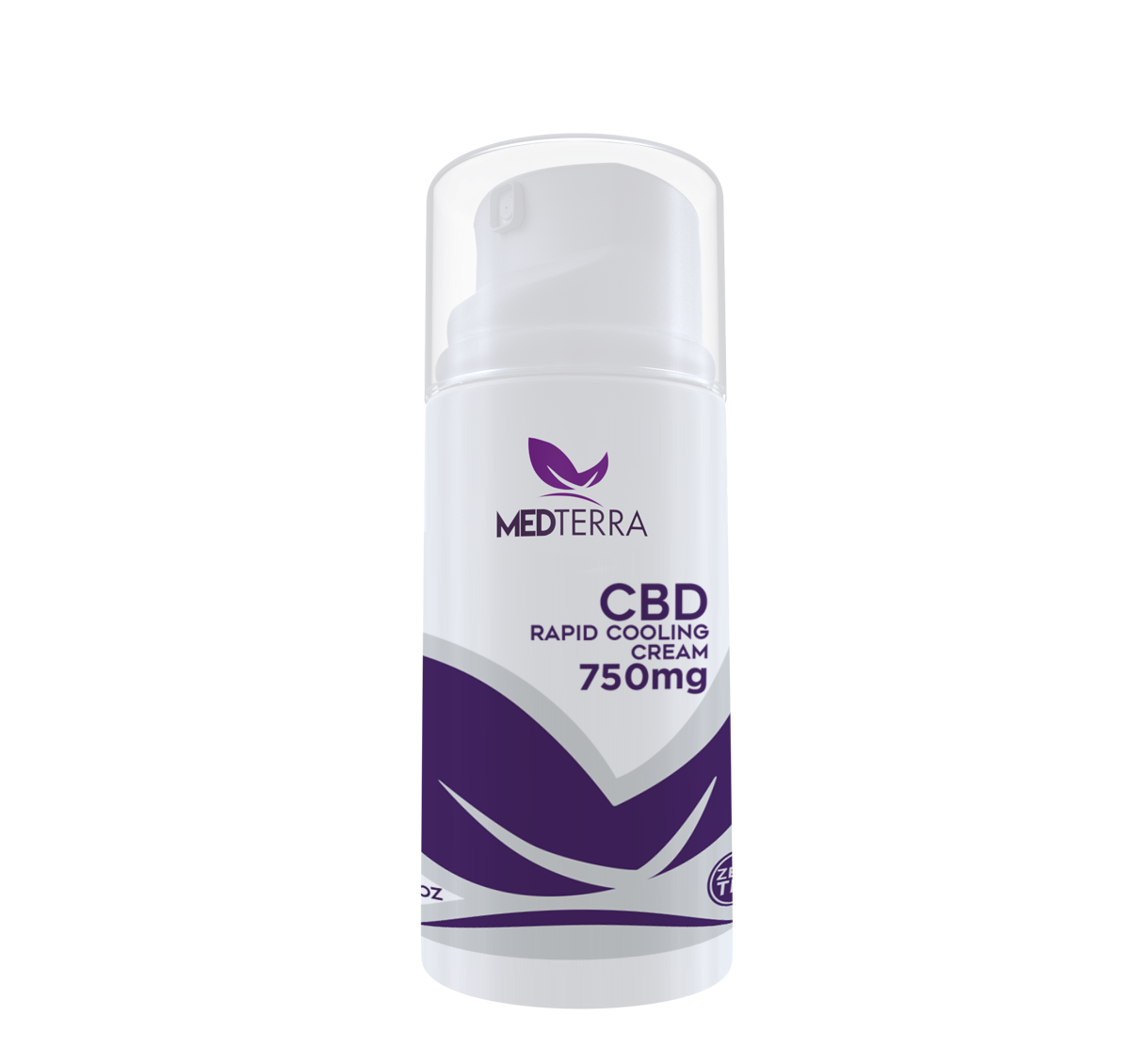 Medterra 750mg CBD Rapid Cooling Topical Cream 3.4fl.oz