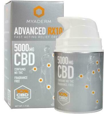 Myaderm Advanced RX10 5000MG Pain Cream