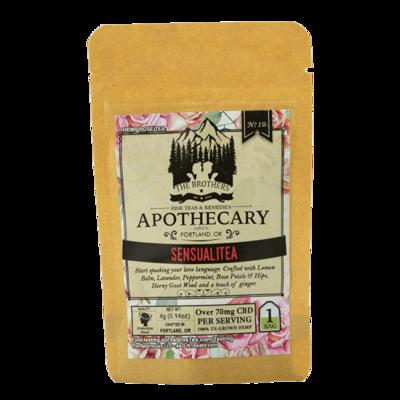 Brothers Apothecary Sensualitea 70+mg CBD Tea 1 Bag