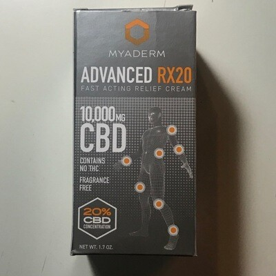 Myaderm Advanced RX10 10000MG Pain Cream