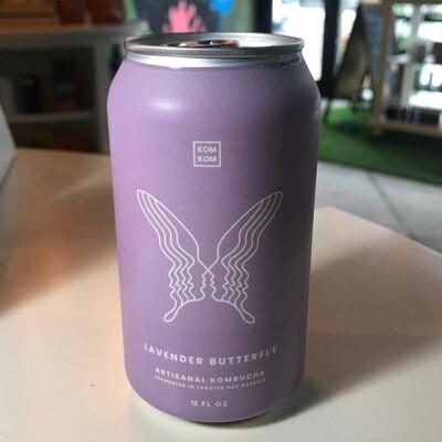 Artisanal Kombucha - Lavender Butterfly 8 Fl Oz